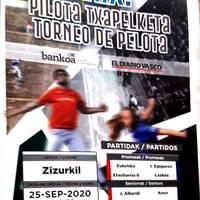 Pilota partidak Intxaur pilotalekuan