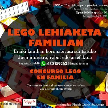 Lego lehiaketa familian