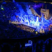 Giuseppe Verdiren 'Aida' opera proiekzioa