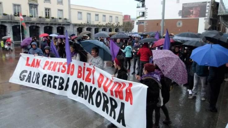 Aiztondo mailako manifestazioa, Villabonatik Zizurkilera