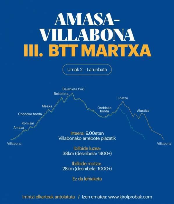III.BTT Martxa Amasa-Villabonan