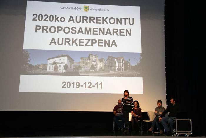 Ia 7 milioi euroko aurrekontua izango du 2020an Amasa-Villabonako Udalak