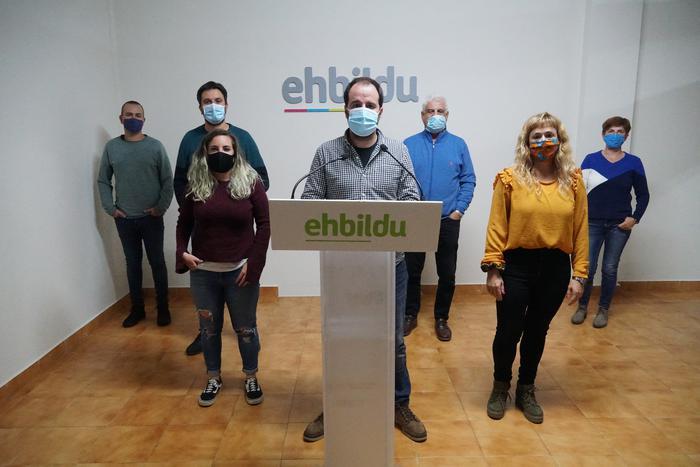 Urgentziazko neurriak hartzea proposatu du EH Bilduk