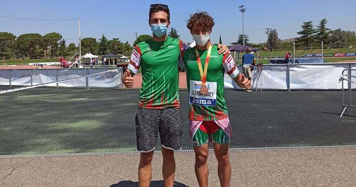 Mikel Campos korrikalariak Espainiako Sub-16 lehiaketan parte hartu zuen asteburuan