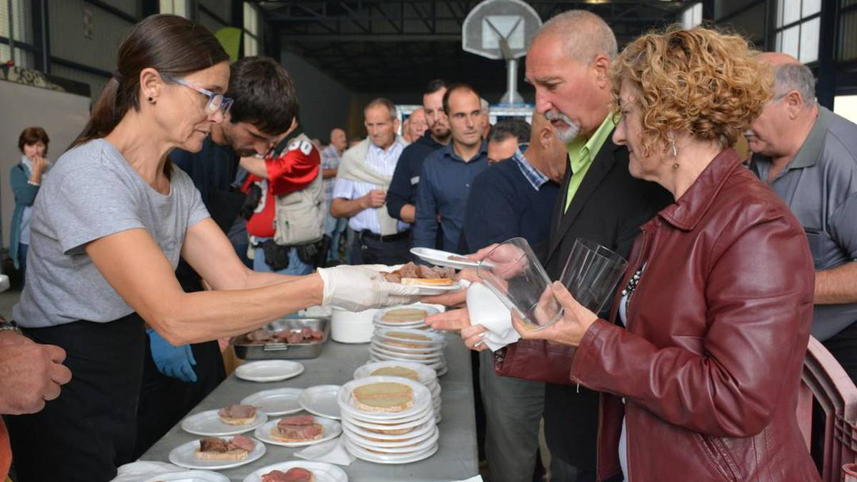Txekor jate solidarioa Pausokaren alde