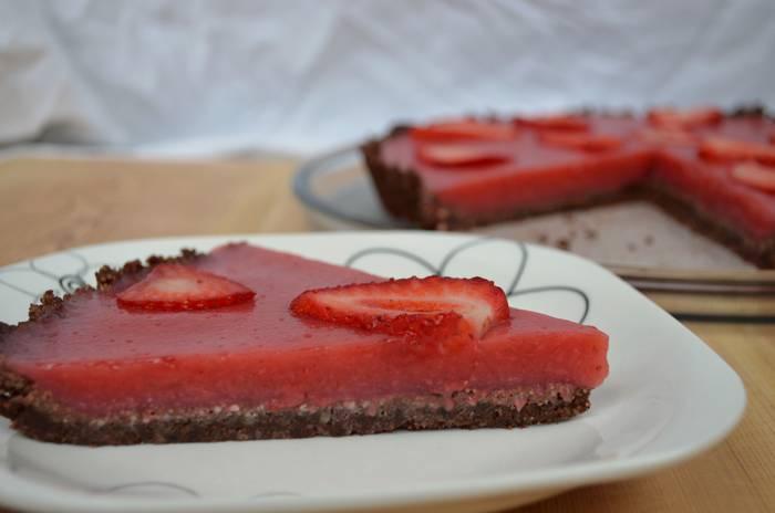 Maddi Etxeberria dietista-nutrizionistaren marrubi tarta