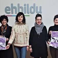 """EH Bilduren bilgunean argazki erakusketa """"martxoaren 8 emakumeen enfoketik"""""""