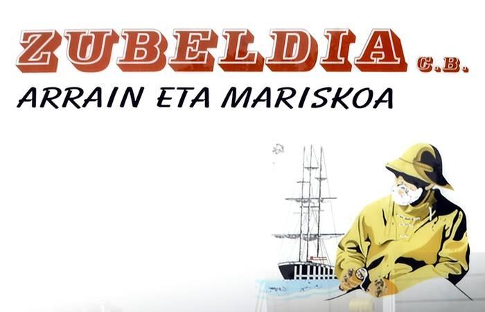 Zubeldia arrain eta mariskoa logotipoa