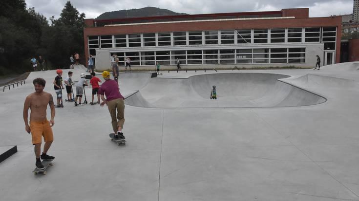 EH Bilduk skatepark berria osatzeko neurri berriak proposatu ditu