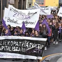 Herriko emakume batek jasandako eraso matxista salatzeko elkarretaratzea deitu du Andoaingo Asanblada Feministak