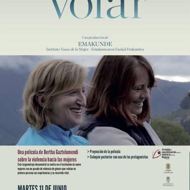'Volar' filma Asteasuko lkus-entzunezkoen  aretoan