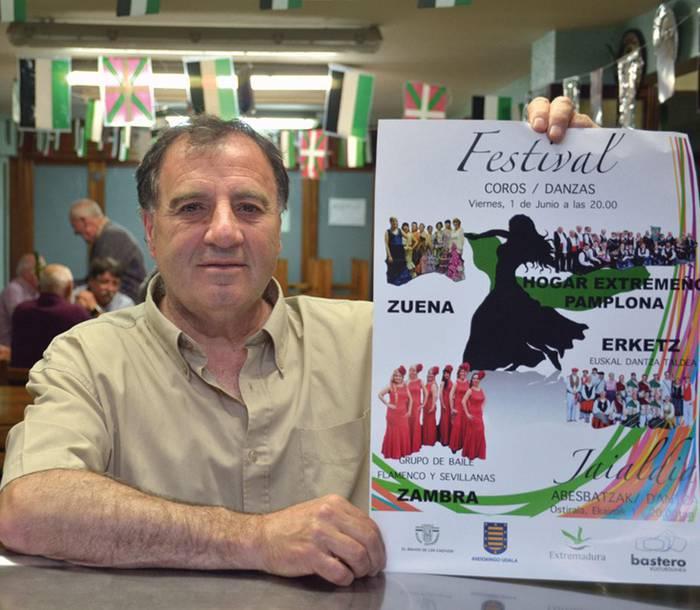 Romangordo eta Andoain arteko senidetzea ezagutu gabe zendu da Ignacio Gomez herrikidea