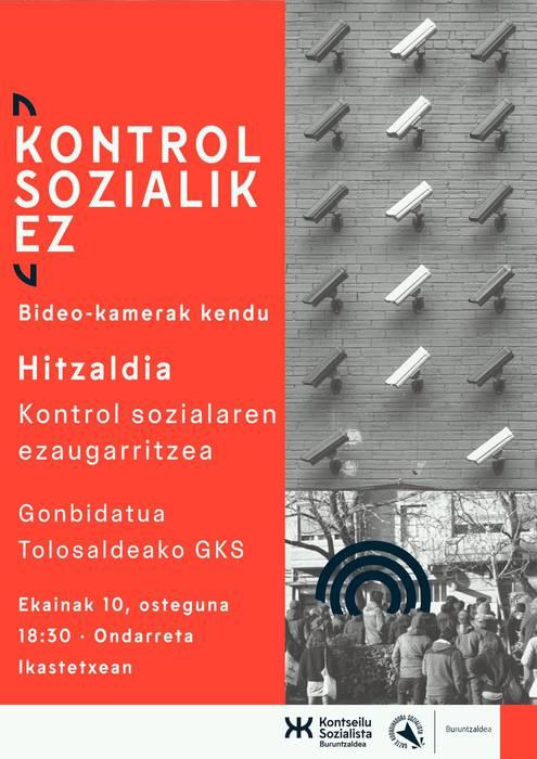 HITZALDIA | Kontrol sozialaren ezaugarritzea