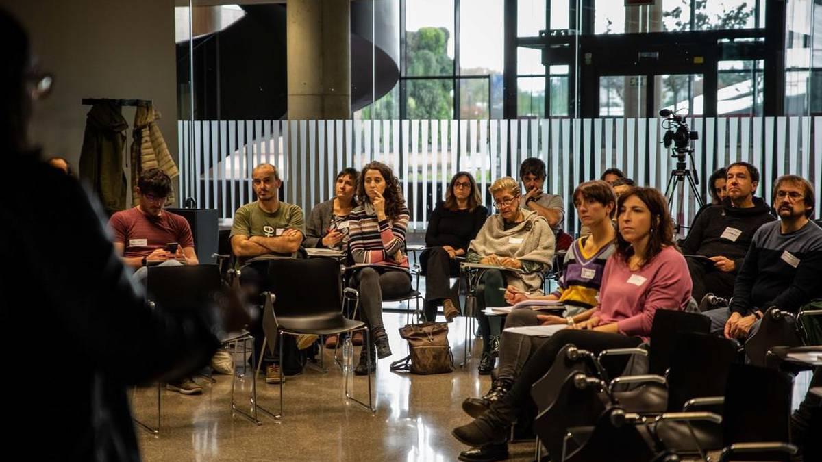 Hernaniko Orona-Ideon enpresen parte-hartzeari buruz egindako jardunaldia