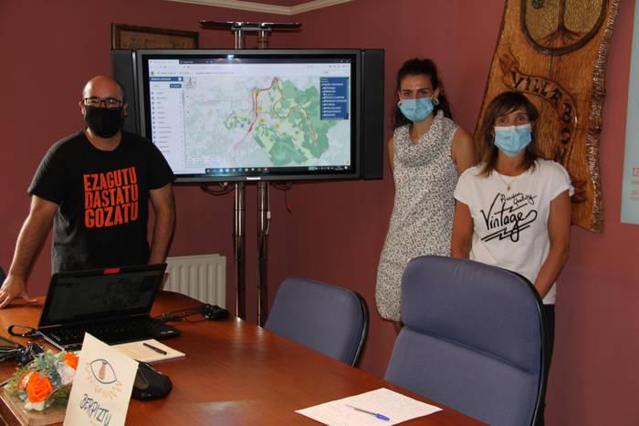 Amasa-Villabonako mapa interaktiboa aurkeztu du udalak