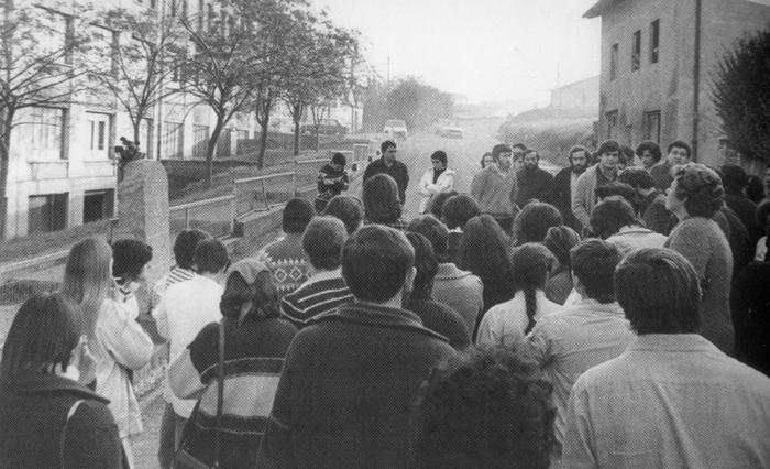 40 urte bete dira Batallon Vasco Españolek Joaquin Antimasbere hil zuela Urnietan