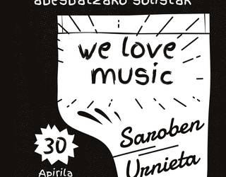 """""""We love music"""", Lourdes Iriondo musika-eskolaren eta Easo Emakumeen Abesbatzaren eskutik"""