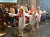 Ezpata dantza San Miguel elizan