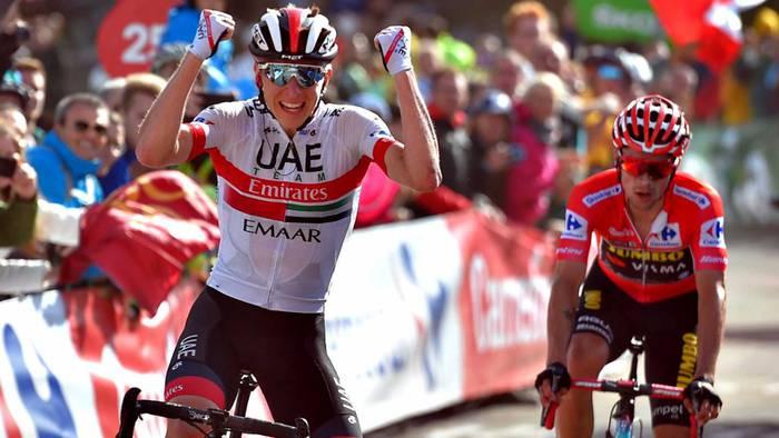 Pogacar-ek Lopezen lekukoa hartu eta etapa ikusgarria eta podiuma lortu ditu