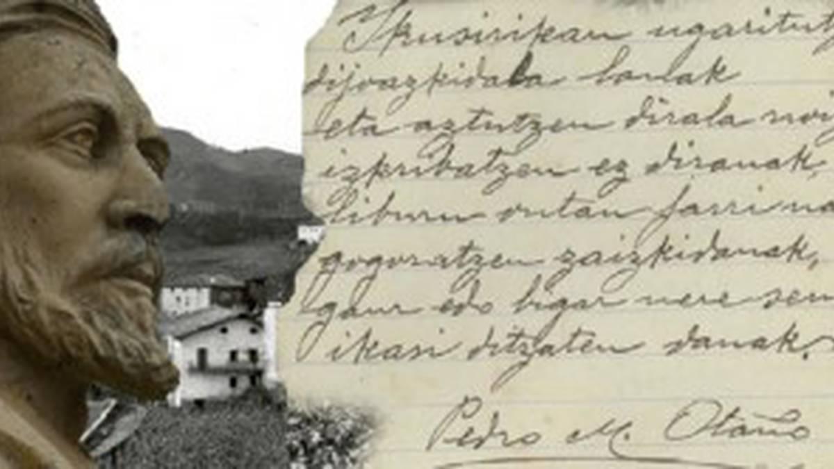 Pello Mari Otaño Bertso-paper Lehiaketako sari-banaketa eta bertso-afaria