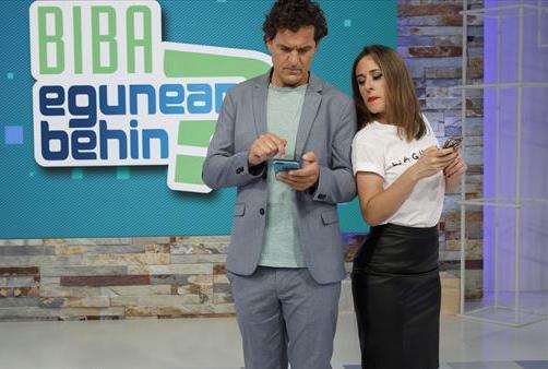 Egunean Behin saio berezia, Euskal Telebistan