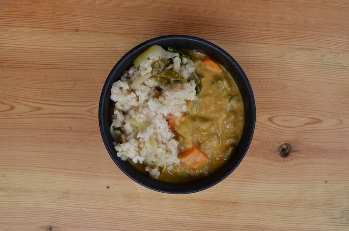 Curry begetalaren errezeta Maddi Etxeberria larrauldarraren eskutik