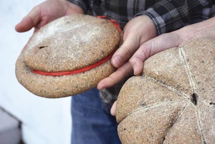 Ponpeyako okinek egiten zuten ogia ekoiztuko du Arrutik