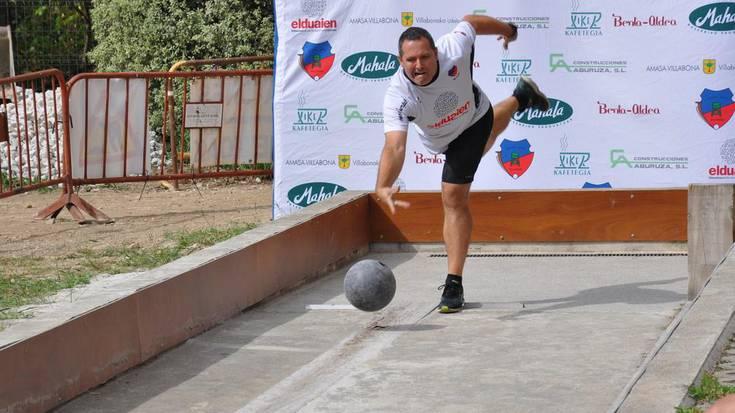 Udazken Bola Txapelketa abian, Villabonako bolatokian