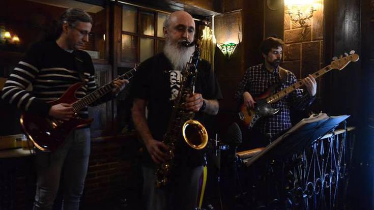 Peppermint Quartet taldearen kontzertua larunbatean, Iturrigoxo tabernan