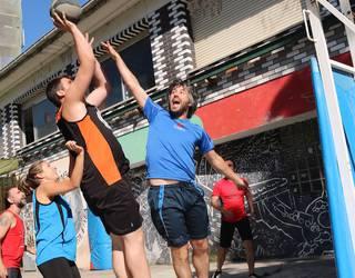 3x3 Street Basket txapelketako argazkiak Ion Abaden eskutik