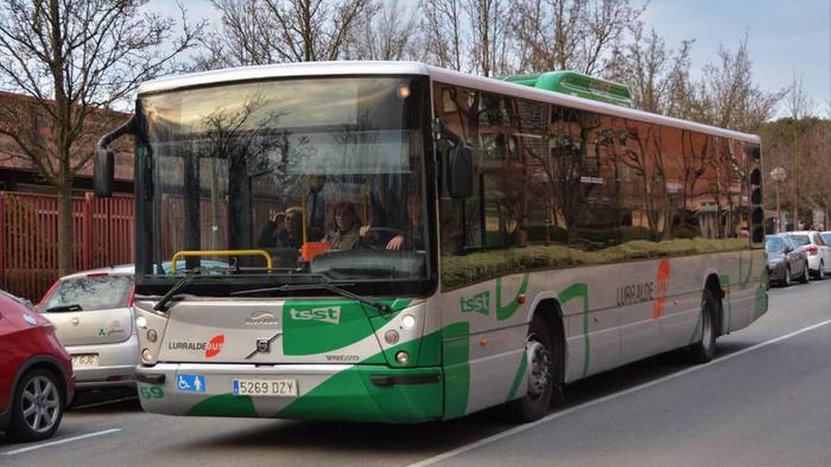 Bus erabiltzaileen intereseko informazioa, N-1 errepidearen eraberritze lanak direla eta