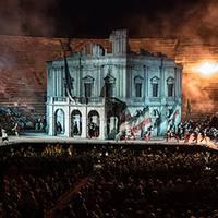 Giuseppe Verdiren 'Nabucco' opera proiekzioa